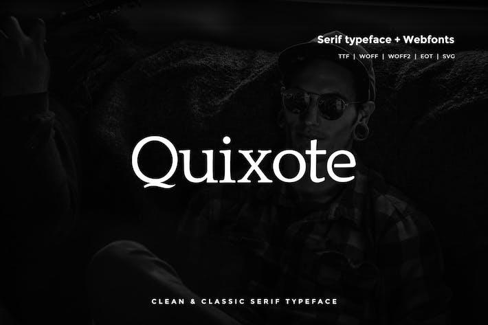Thumbnail for Quijote - Classic Con serifa Tipo de letra + WebFont
