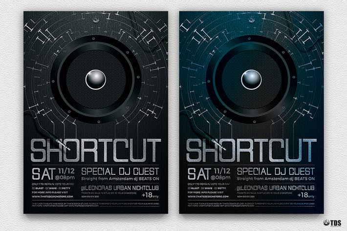 Thumbnail for Shortcut Flyer Template