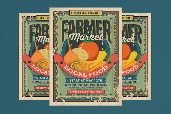 Thumbnail for Farmer Market Flyer