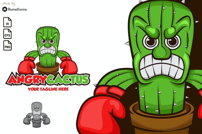 Thumbnail for Angry Cactus - Logo KF