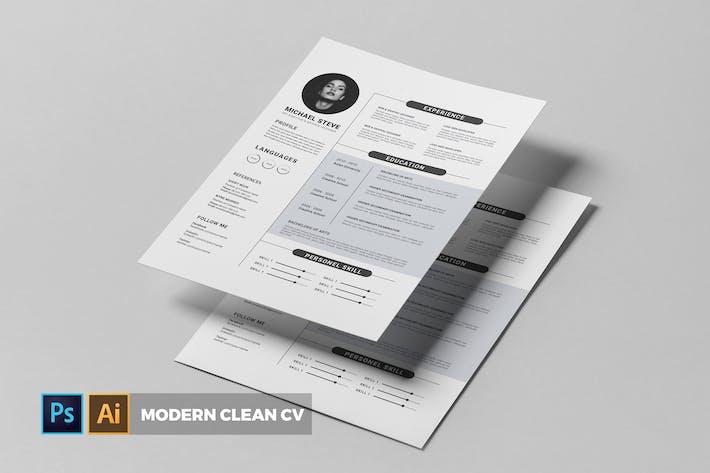 Thumbnail for Modern | CV & Resume