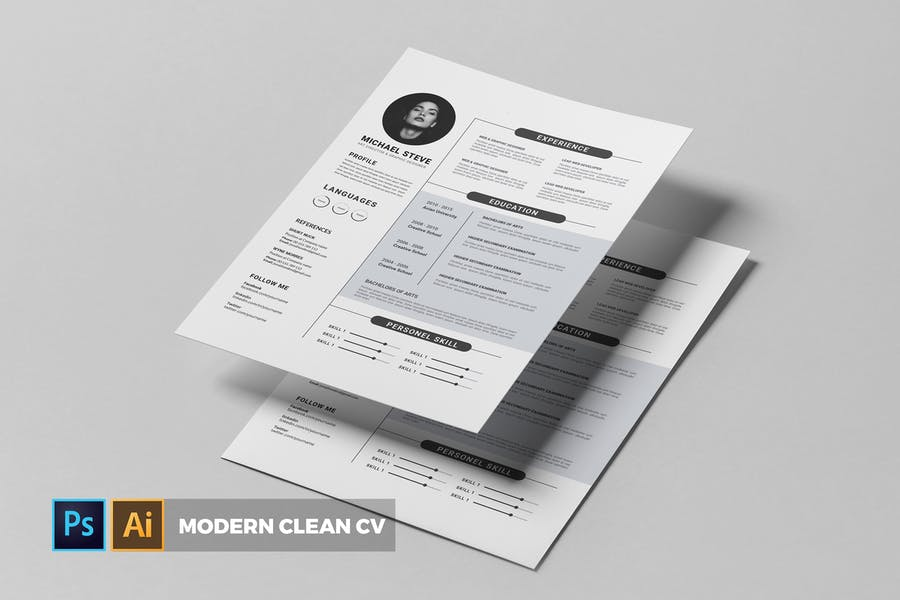 Modern | CV & Resume - product preview 0