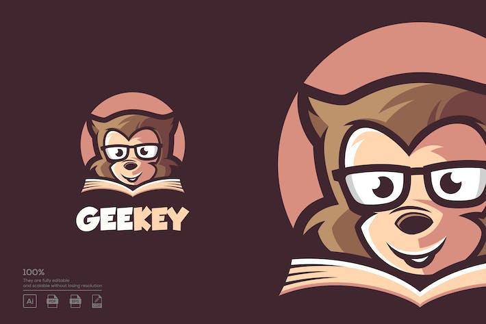 Thumbnail for Geek Monkey logo design
