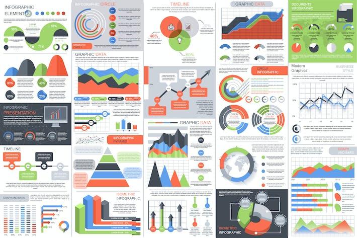 "Download 230 Landscape ""infographic"" Graphic Templates"