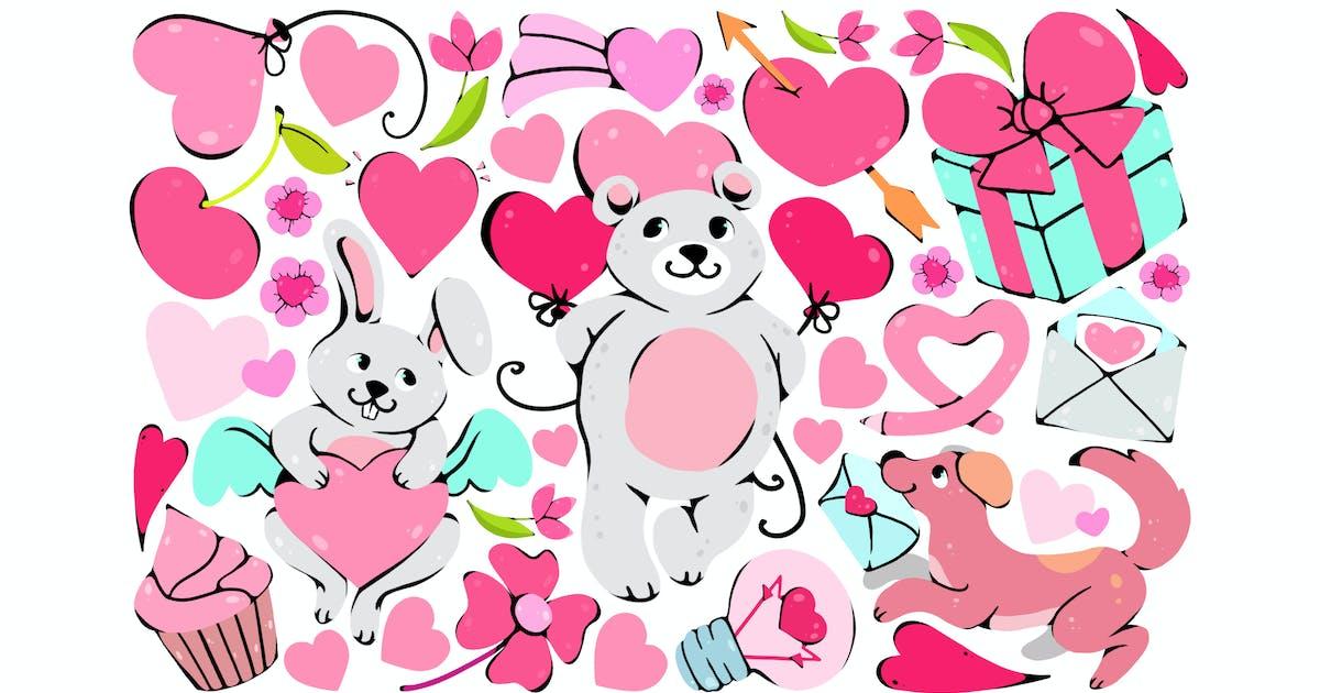 Download Cute Valentine Clipart by Jumsoft