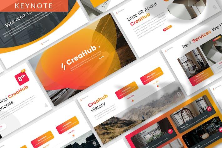 Thumbnail for CreaHub - Business Keynote Template