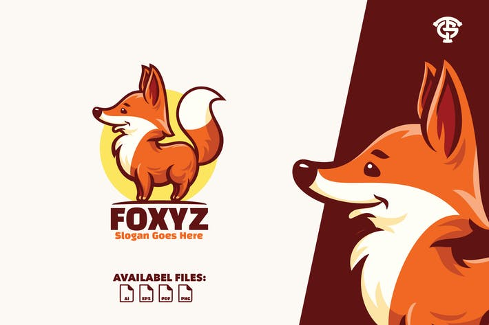 Thumbnail for Foxyz- Logo Mascot