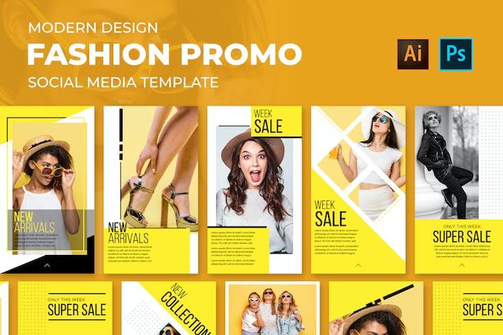 Fashion Promo Social Media Posts
