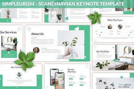 Simpleurism - Scandinavian Keynote Template