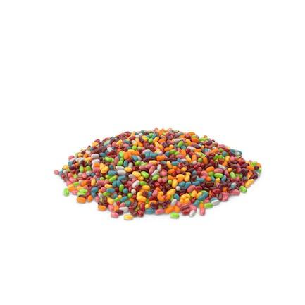 Großer Haufen Jellybeans