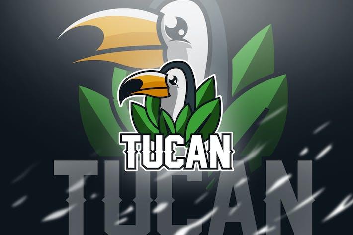 tucan Green - Mascot & Esport Logo