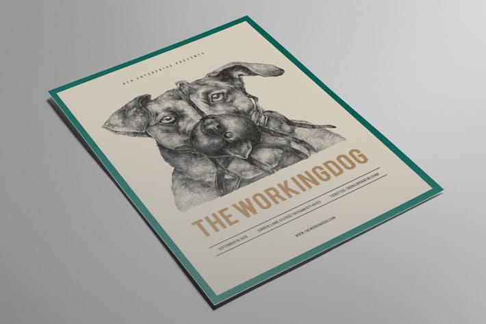 Thumbnail for The Working Dog Flyer