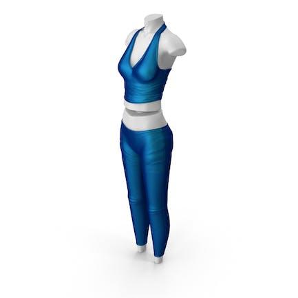 Kleidung Damen Blau