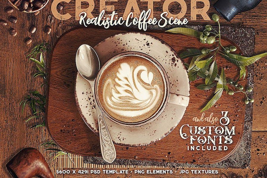 Coffee Scene Creator