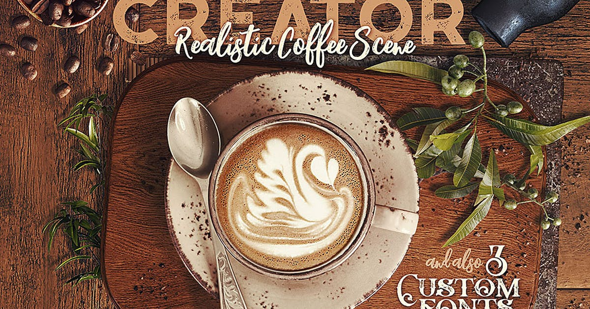 Download Coffee Scene Creator by cruzine