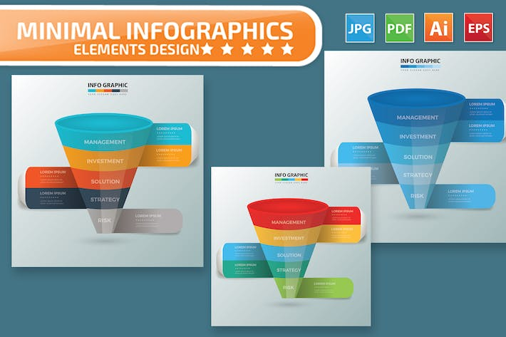 Thumbnail for Funnel Infographic Design