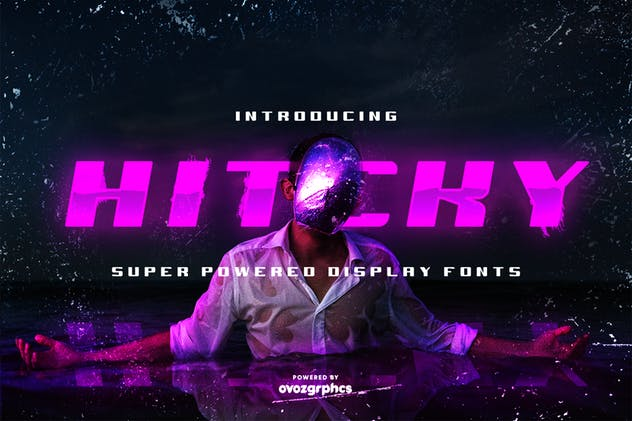 HITCKY SUPER POWERED DISPLAY FONT