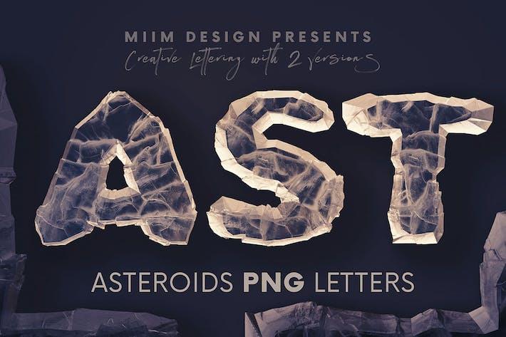 Asteroids - 3D Lettering