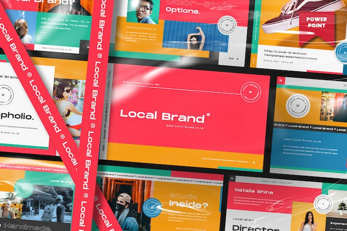 Cover Image For Local Brand Creative  Business Presentation