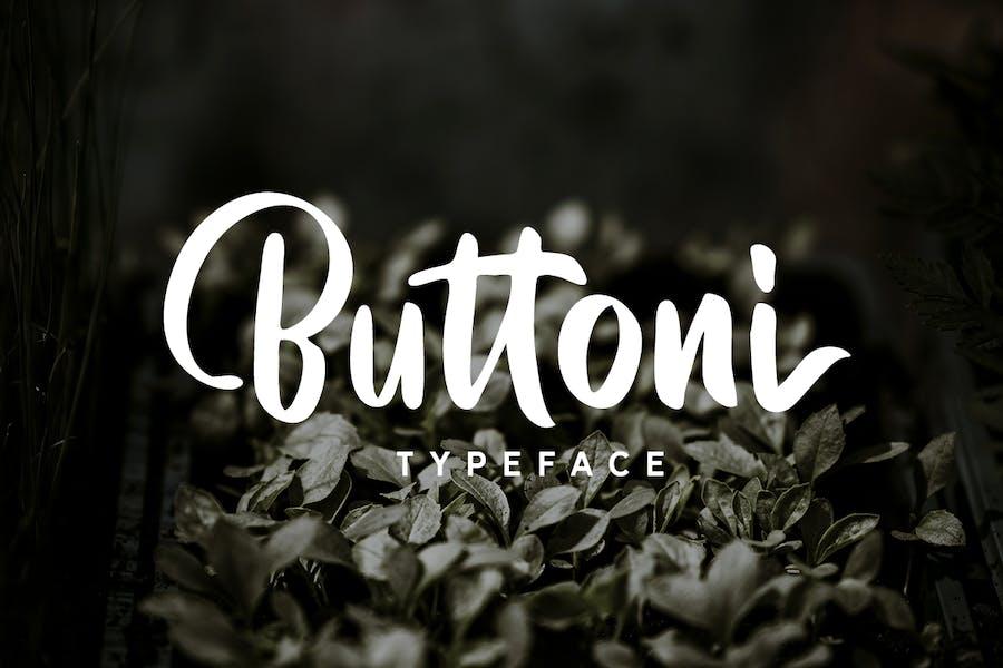 Buttoni Typeface