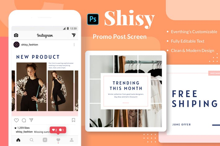 Thumbnail for Shisy Promo - Instagram Feed Post