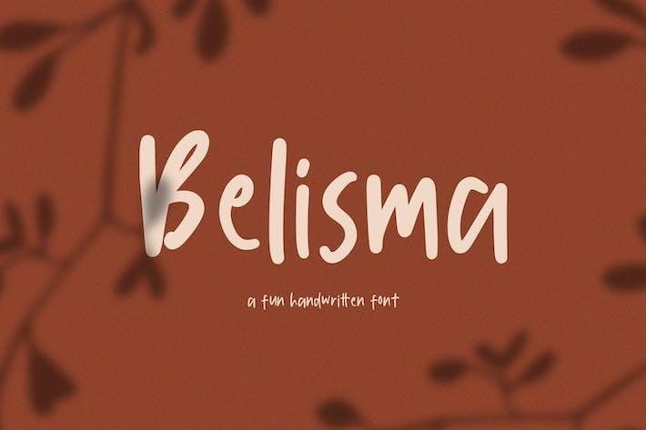 Belisma Handwritten Font