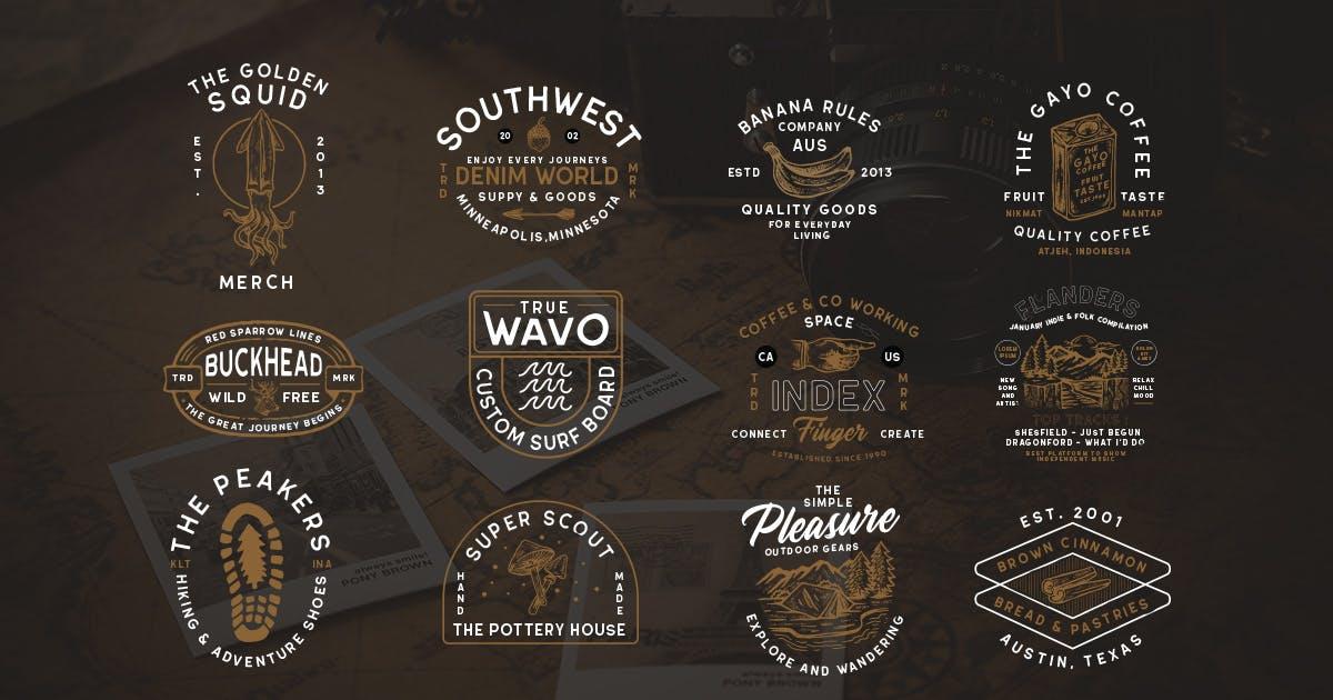 Download Modern Vintage Logopack 09 by letterhend