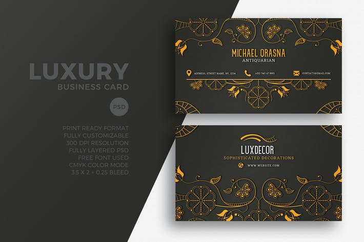 Thumbnail for Luxury Business Card