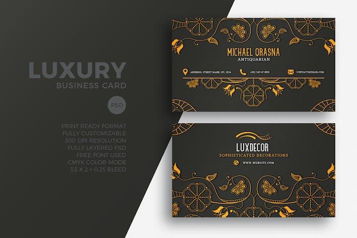 Thumbnail for Carte de visite de luxe