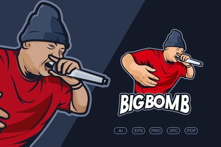 Thumbnail for Hip Hop Music Character Logo v.1