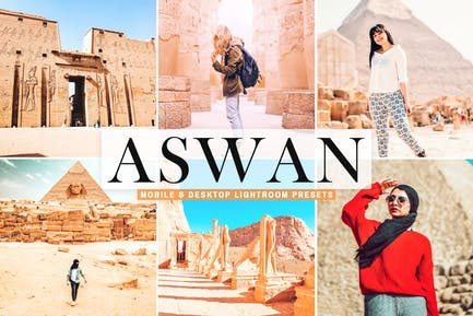 Aswan Mobile & Desktop Lightroom Presets