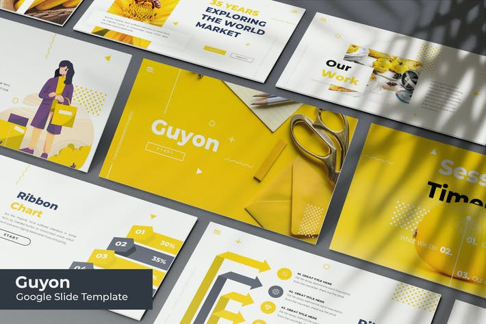 Guyon - Google Slides Template