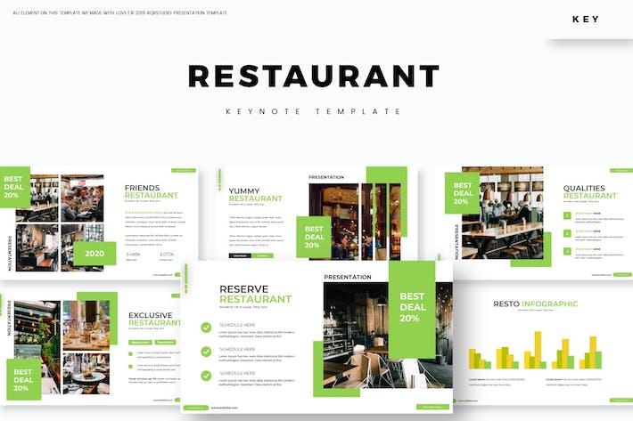 Restaurant - Keynote Template
