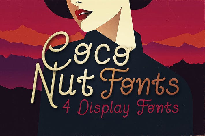 Thumbnail for Coconut - Display Font
