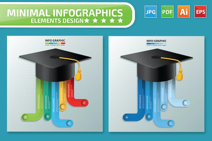 Cover Image For Education infographic Design