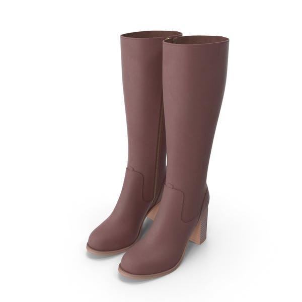 High Heels Boots Colors
