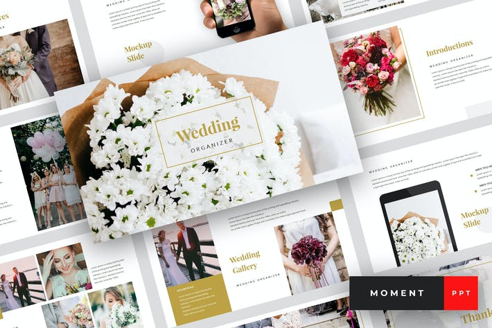 Thumbnail for Moment - Wedding PowerPoint Template