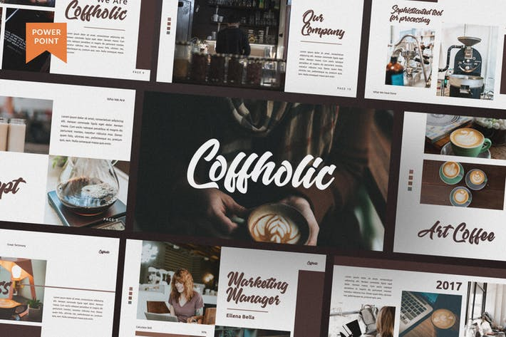 Thumbnail for Coffholic Brand Coffee Presentation