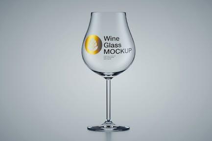 Weinglas-Mockup