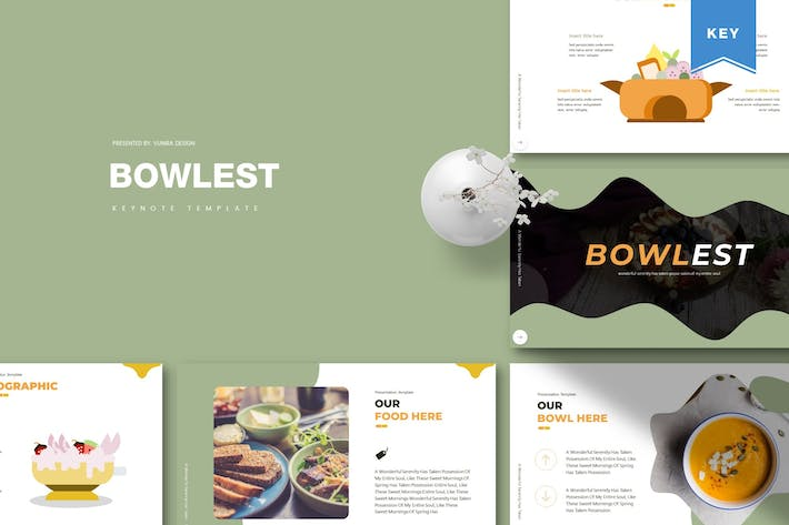 Thumbnail for Bowlest | Keynote Template