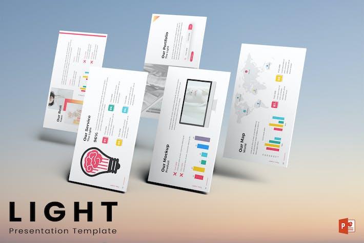 Thumbnail for Light - Powerpoint-Vorlage