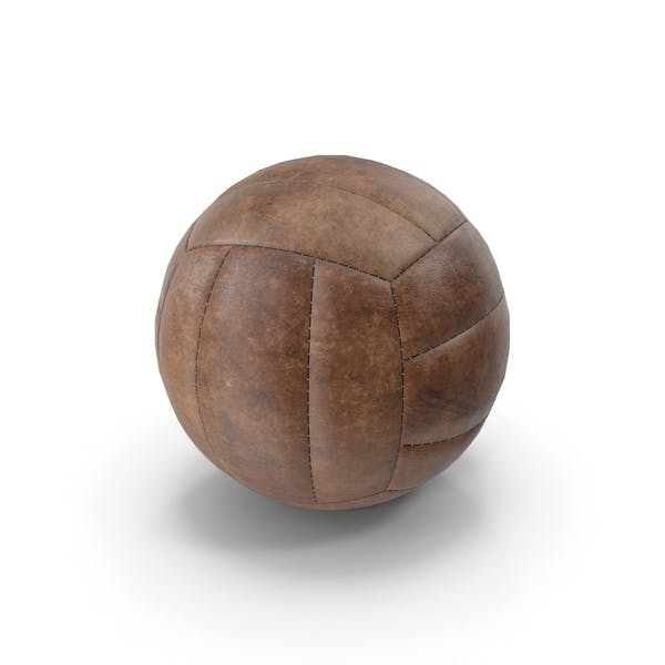 Old Volleyball Ball Vintage