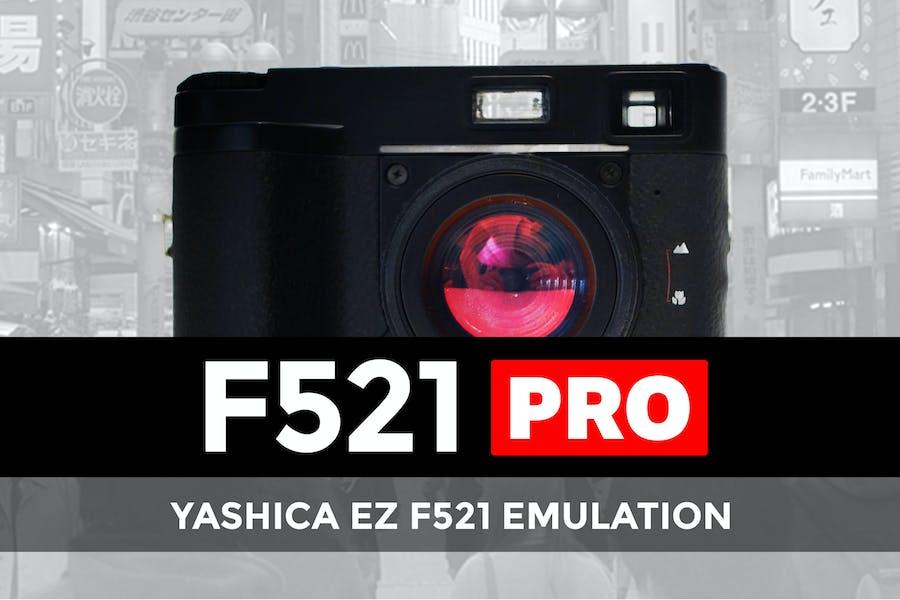 Yashica EZ F521 Emulation Pro