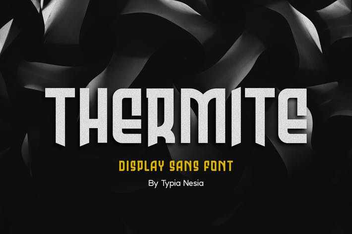 Thumbnail for Thermite Display - Sport Font