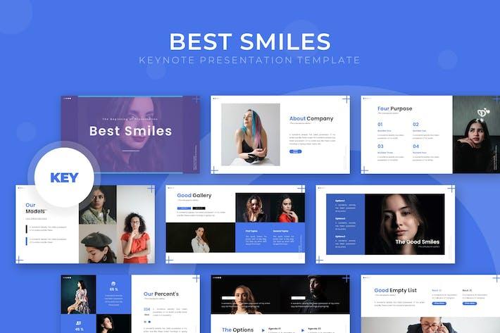 Thumbnail for Лучшие улыбки - Шаблон Keynote