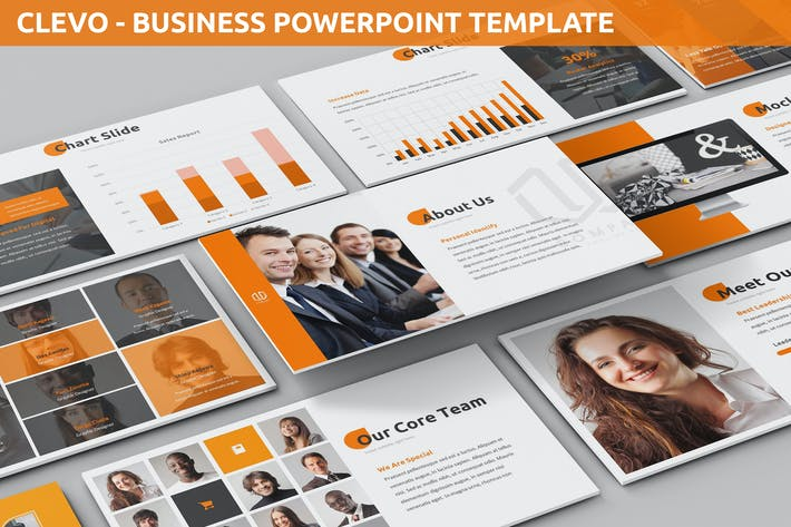 Thumbnail for Clevo - Business Powerpoint Template