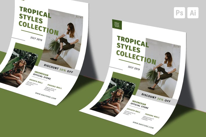 Thumbnail for Tropical Fashion-Flyer