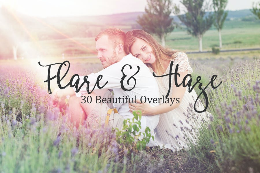 30 Flare and Haze Overlays