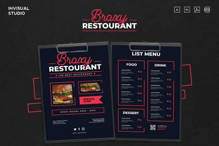 Thumbnail for Broxy Restaurant - Food Menu