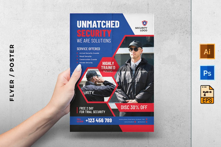 Security solution flyer